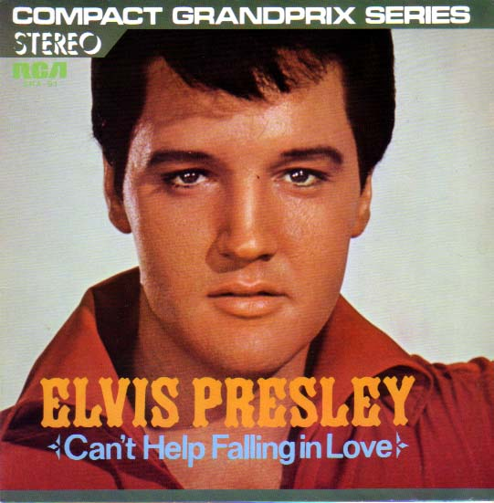can't help falling in love Elvis Presley